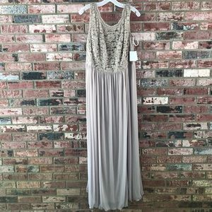 aad7fa38a4f9 Make me an offer💕 NWT David's Bridal Long bridesmaid lace bodice ...